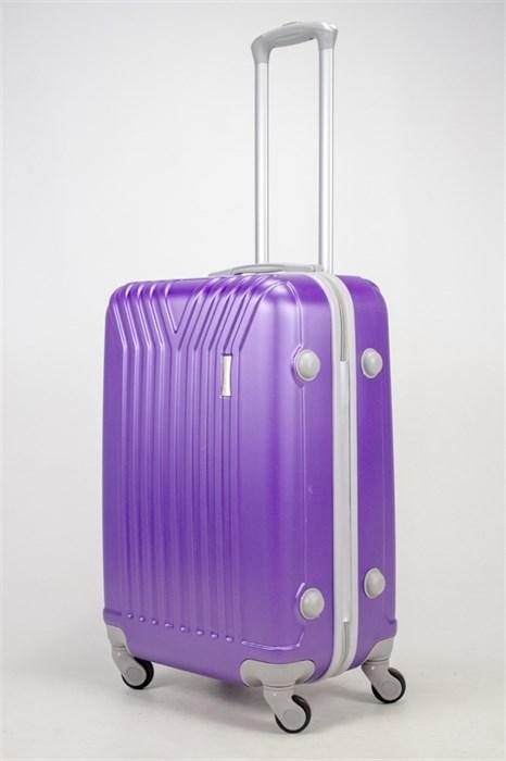 Чемодан средний ABS TT (У-образный) фиолетовый СФ - фото 37044