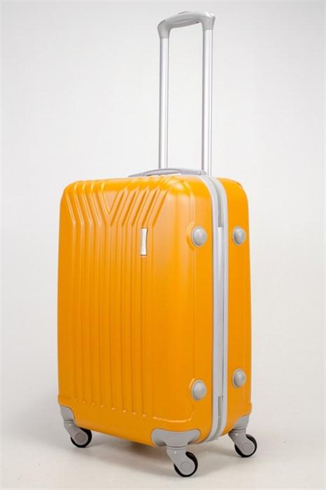 Чемодан средний ABS (У-образный) оранжевый - фото 37104