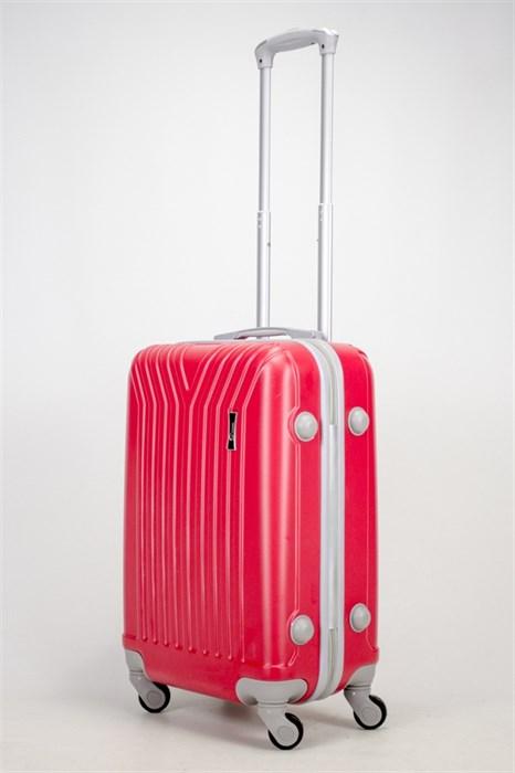 Чемодан маленький ABS У-образный красный СФ - фото 37290