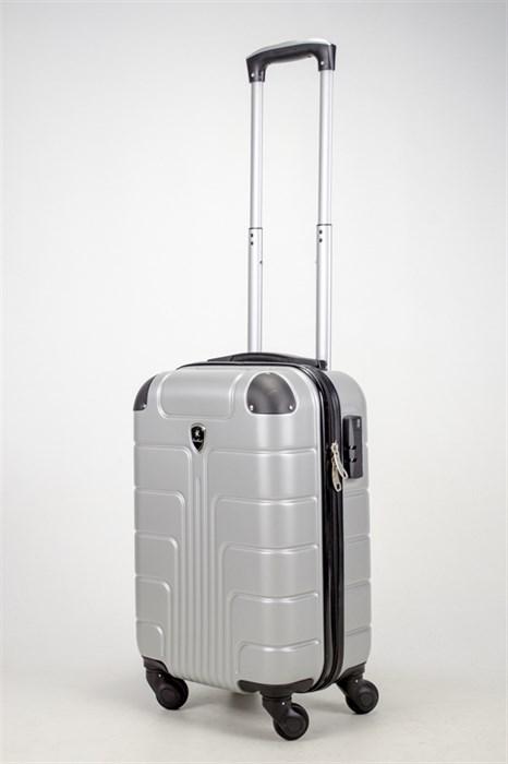 Чемодан маленький ABS Smart Travel серебро - фото 37457
