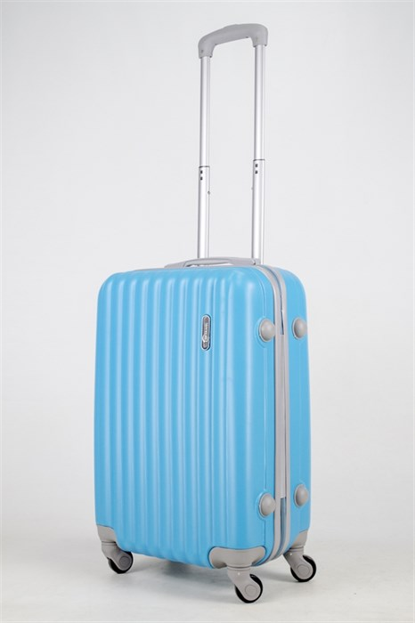Чемодан маленький ABS Top Travel голубой (С) - фото 37626