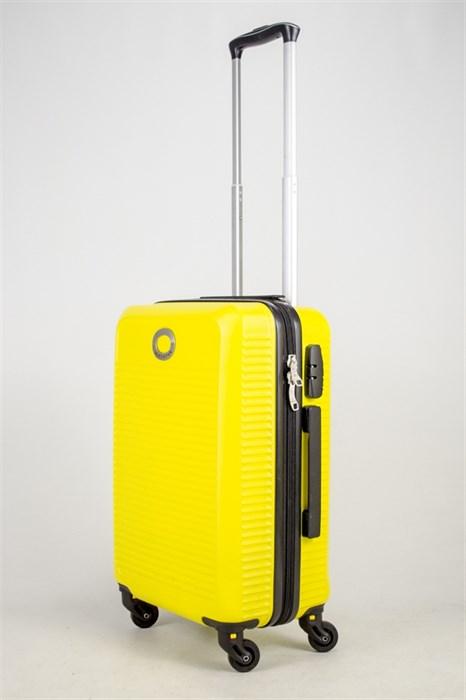 Чемодан маленький ABS MIRONPAN желтый (ч) - фото 37683