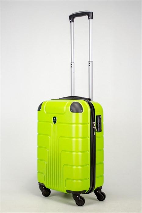 Чемодан маленький ABS SmartTravel зеленый (ч) - фото 38042