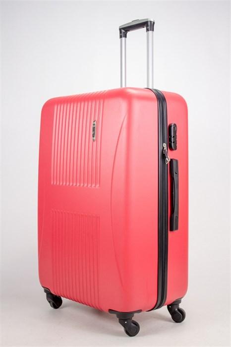 Чемодан большой ABS Hossoni (гармошка) красный - фото 38488