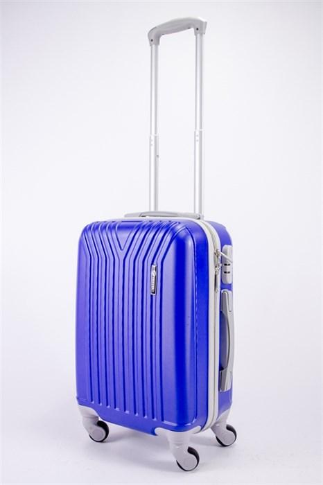 Чемодан маленький ABS TT (У-образный) ярко-синий СФ - фото 39381