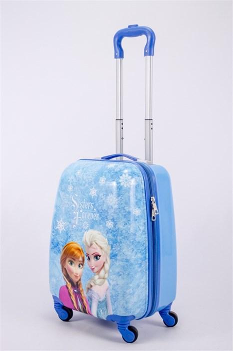 Детский чемодан PC на колесиках синий  13175 - фото 40161