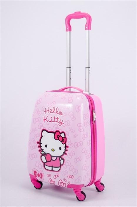 Детский чемодан PC на колесиках розовый 13174 - фото 40168