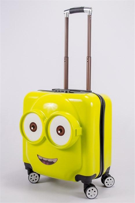 "Детский чемодан с объемным рисунком ""Миньон""  PC - фото 40313"