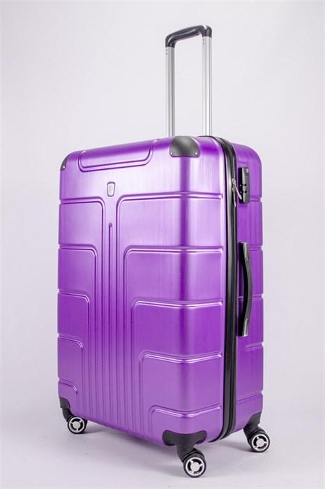 Чемодан большой PC фиолетовый - фото 52235
