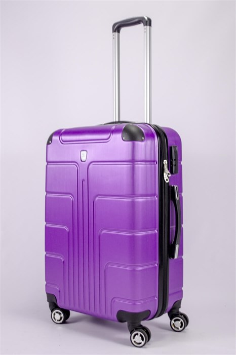 Чемодан средний PC фиолетовый - фото 52244