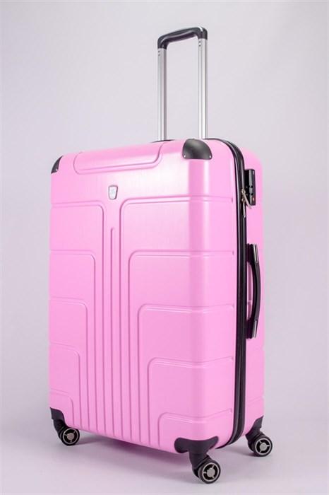 Чемодан большой PC розовый - фото 52306