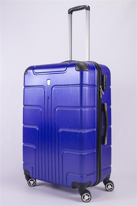 Чемодан большой PC ярко-синий - фото 52354