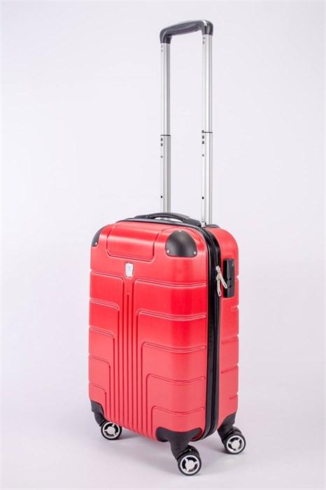 Чемодан маленький PC красный - фото 52465
