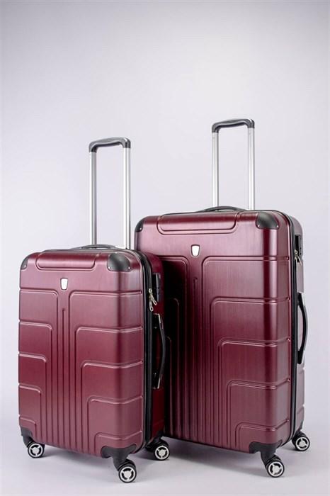 Комплект чемоданов из поликарбоната (PC) L+M - фото 52544
