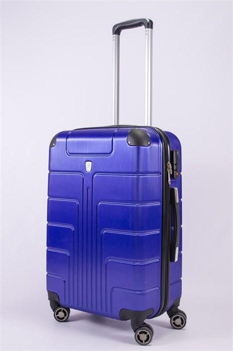Чемодан средний PC ярко-синий (уценка) - фото 52785