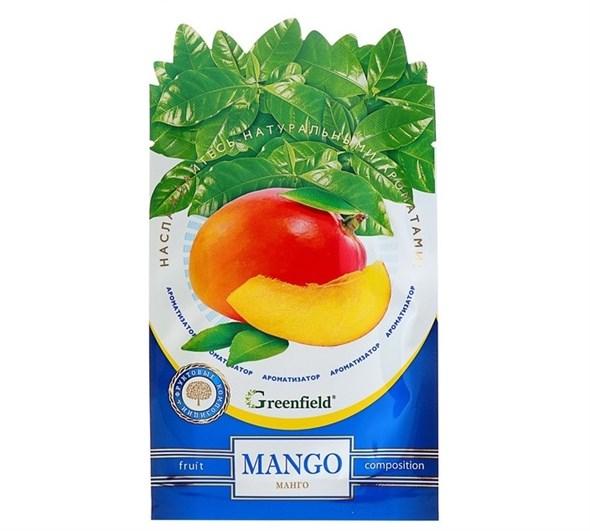"Освежитель воздуха Ароматизатор  Greenfield ""Mango""  4615507 - фото 53167"
