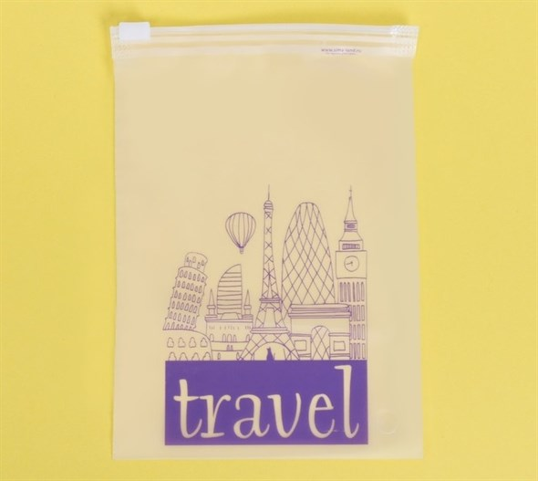 Пакет для хранения вещей вертикальный Travel, 9 × 16 см  3929655 - фото 53186