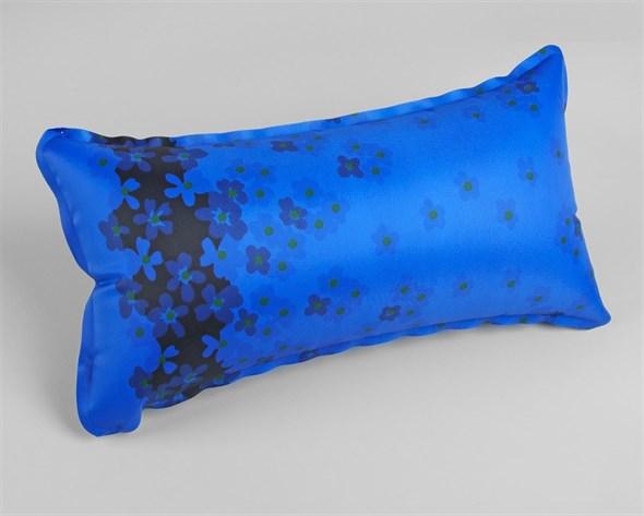 Подушка дорожная, с поролоном, 36 × 20 см, цвет МИКС 1694479 - фото 53187