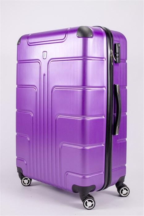 Чемодан большой PC фиолетовый - фото 53274