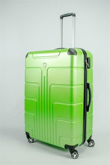 Чемодан большой PC зеленый - фото 53762