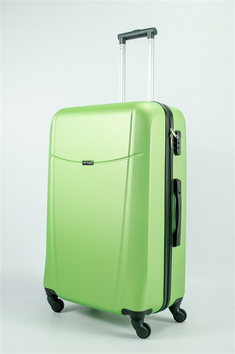 Чемодан большой ABS Maggie Н зеленый - фото 54939