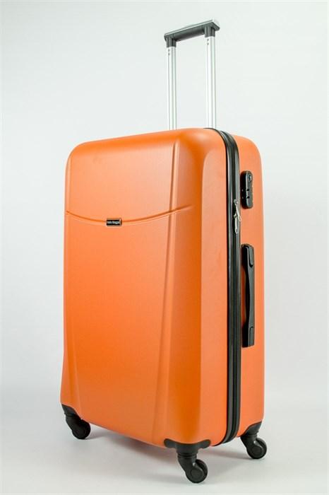 Чемодан большой ABS Maggie Н оранжевый - фото 54967