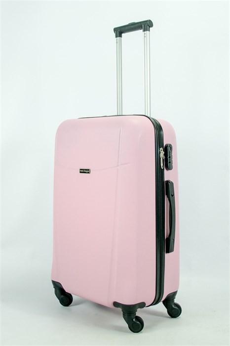 Чемодан средний ABS Maggie Н розовый - фото 55257