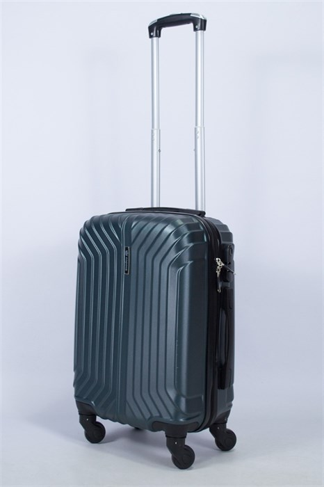 Чемодан маленький ABS Корона (Лилия) изумруд - фото 55535