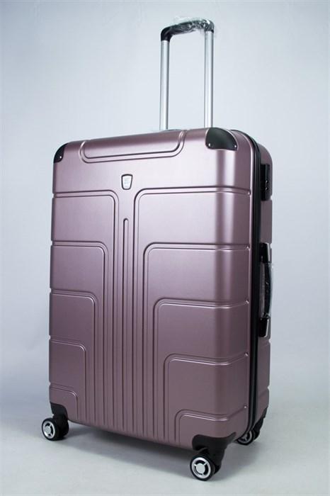 Чемодан большой PC пыльно-фиолетовый - фото 55752