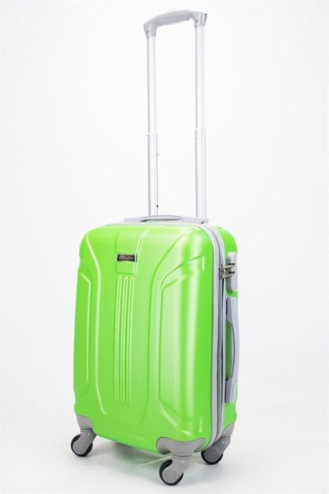 Чемодан маленький ABS Ananda (3 полосы) зеленый - фото 57264