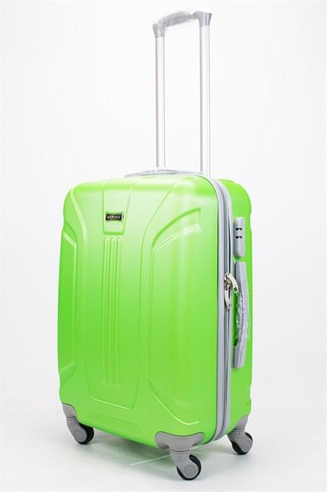 Чемодан средний ABS Ananda (3 полосы) зеленый - фото 57265