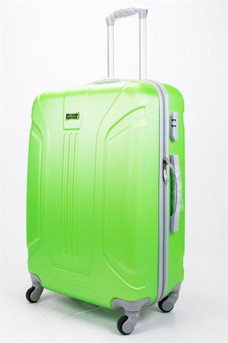 Чемодан большой ABS Ananda (3 полосы) зеленый - фото 57266