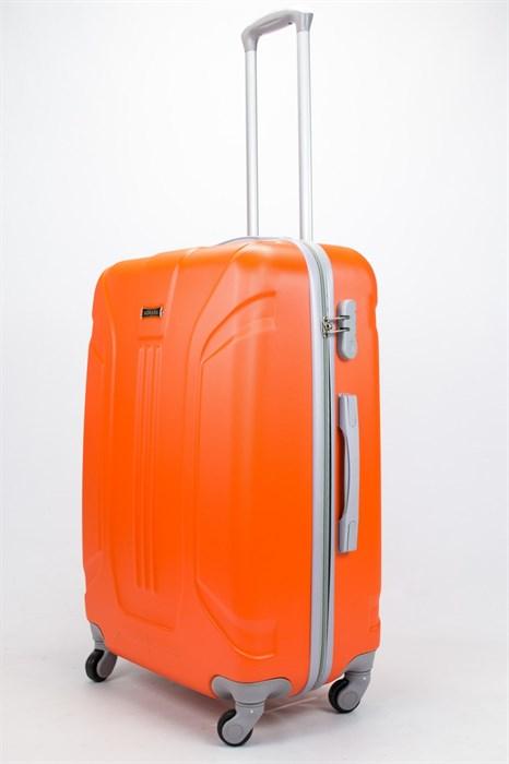 Чемодан большой ABS Ananda (3 полосы) оранжевый - фото 57307