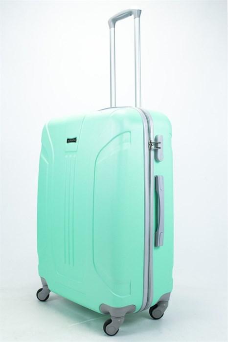 Чемодан большой ABS Ananda (3 полосы) мятный - фото 57472