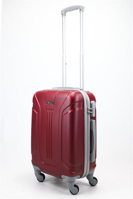 Чемодан маленький ABS Ananda (3 полосы) бордовый - фото 57767