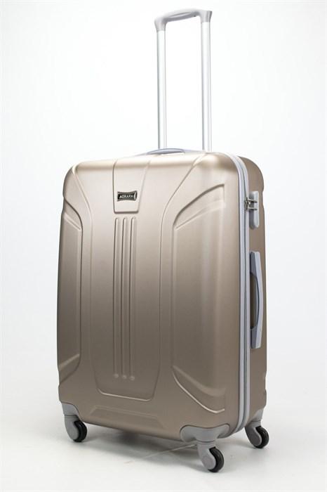 Чемодан большой ABS Ananda (3 полосы) песочный - фото 57900