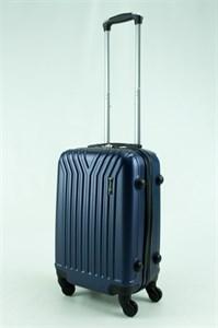 Чемодан маленький ABS синий (У-образный) ЧФ