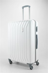 Чемодан большой ABS TT (У-образный) белый