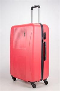 Чемодан большой ABS Hossoni (гармошка) красный