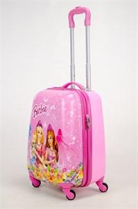Детский чемодан PC на колесиках розовый 12992