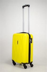Чемодан маленький ABS OCCE (черточки) желтый ЧФ