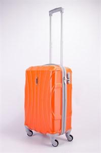 Чемодан маленький ABS KK (черепаха) оранжевый
