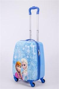 Детский чемодан PC на колесиках синий  13175