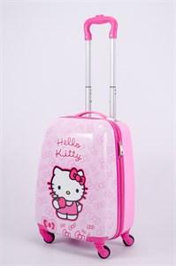 Детский чемодан PC на колесиках розовый 13174