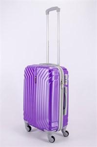 Чемодан маленький ABS Корона (Лилия) фиолетовый СФ
