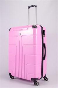 Чемодан большой PC розовый