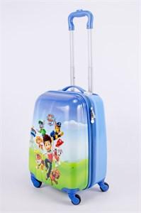 Детский чемодан PC на колесиках синий  13350