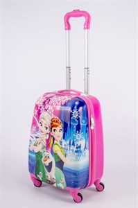 Детский чемодан PC на колесиках розовый 13344