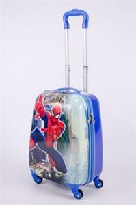 Детский чемодан PC на колесиках синий  13345