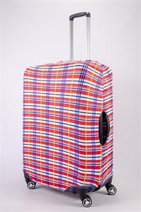 """Чехол для большого чемодана """"SummerCool красный"""" 13488"""